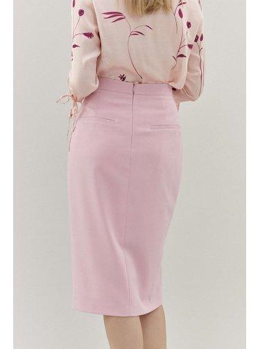 Pietro Filipi růžová dámská sukně ke kolenům