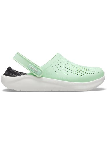 Crocs zelené boty LiteRide Clog Neo Mint/Almost White