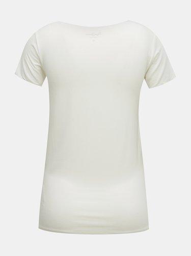 Biele dámske tričko Pepe Jeans