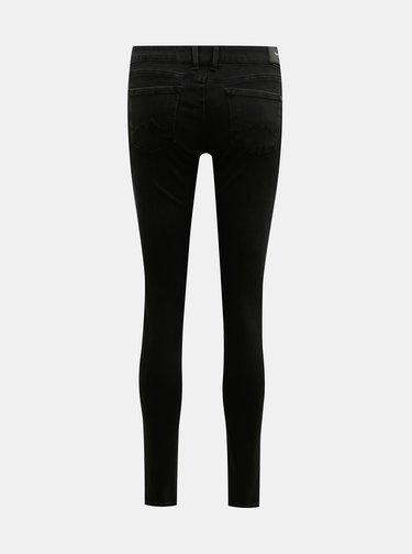 Černé dámské skinny fit džíny Pepe Jeans