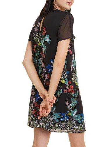 Desigual černé šaty Vest Loretha