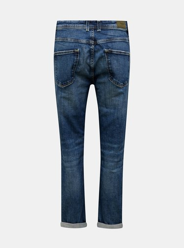 Modré dámské slim fit rifle Pepe Jeans