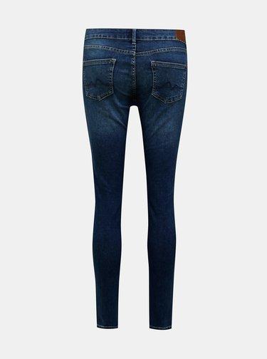 Tmavomodré dámske skinny fit rifle Pepe Jeans