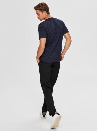 Tmavě modré tričko Selected Homme Astor