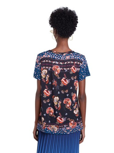 Desigual barevné tričko TS Antoine
