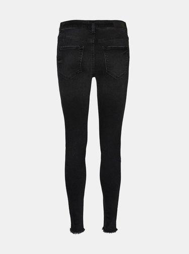 Černé skinny fit džíny VERO MODA Hanna