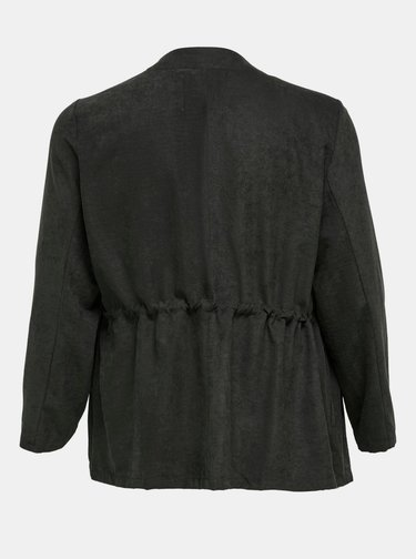 Černá lehká bunda ONLY CARMAKOMA Sabia