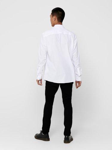 Biela košeľa ONLY & SONS Sane