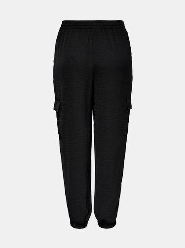 Černé cargo kalhoty ONLY Sonja