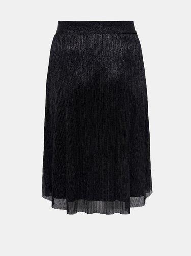 Čierna sukňa ONLY CARMAKOMA Vegas