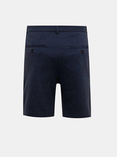 Tmavě modré kraťasy Selected Homme Jersey