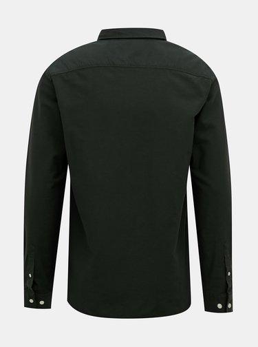Tmavozelená košeľa Selected Homme Collect