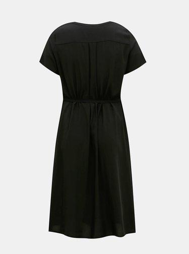 Čierne šaty ONLY CARMAKOMA Tukzu
