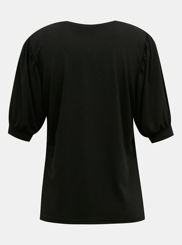 Černé tričko Jacqueline de Yong Kimmie
