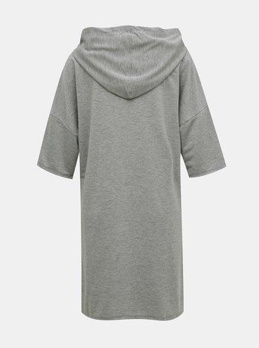 Šedé mikinové šaty Jacqueline de Yong Dawn