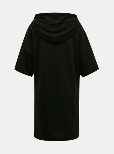 Čierne mikinové šaty Jacqueline de Yong Dawn