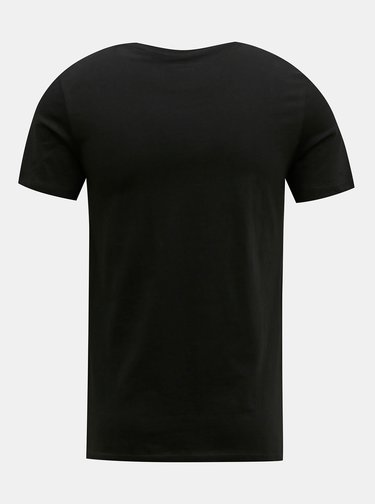 Čierne tričko Jack & Jones Barista
