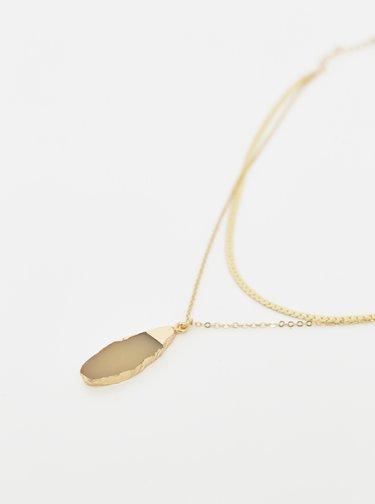 Řetízek ve zlaté barvě Pieces Mathilde