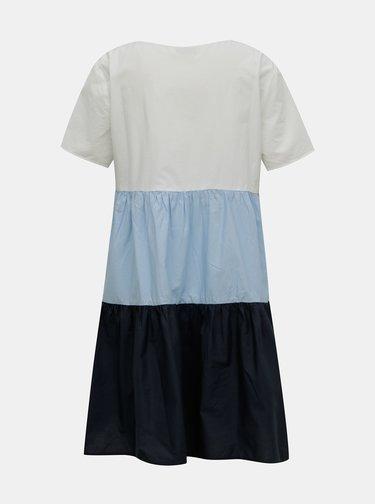 Bílo-modré šaty Jacqueline de Yong Tate