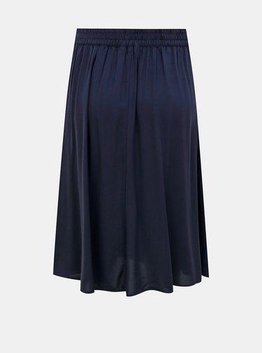 Tmavě modrá midi sukně ONLY Nova