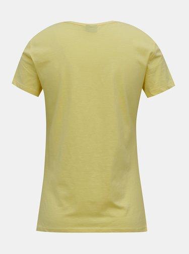 Žluté tričko s potiskem ONLY Peanuts