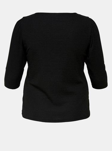 Černé tričko ONLY CARMAKOMA Clare