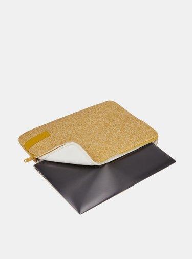 """Žluté žíhané pouzdro na notebook Case Logic Reflect 14"""""""