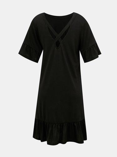 Černé volné šaty VERO MODA Violetta