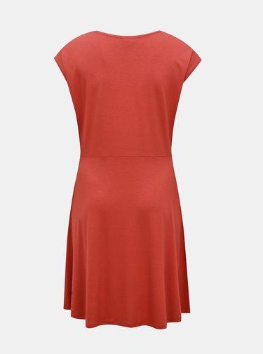 Ružové šaty ONLY CARMAKOMA Flake