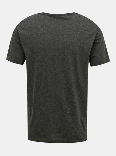 Tmavošedé pánske tričko Puma