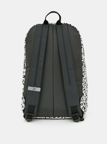 Bílý vzorovaný batoh Puma