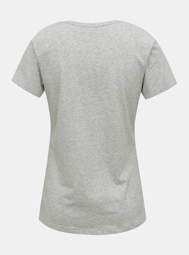 Šedé dámské tričko Puma