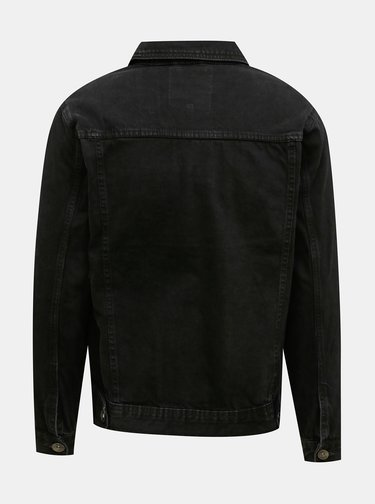 Čierna pánska rifľová bunda Redefined Rebel