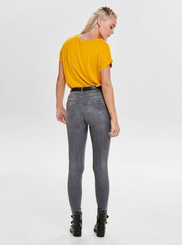Žluté tričko ONLY Moster
