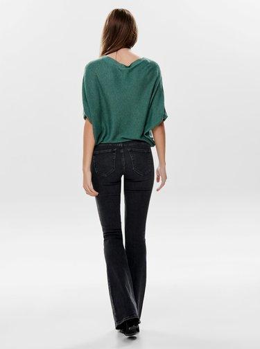 Zelený volný svetrový top Jacqueline de Yong