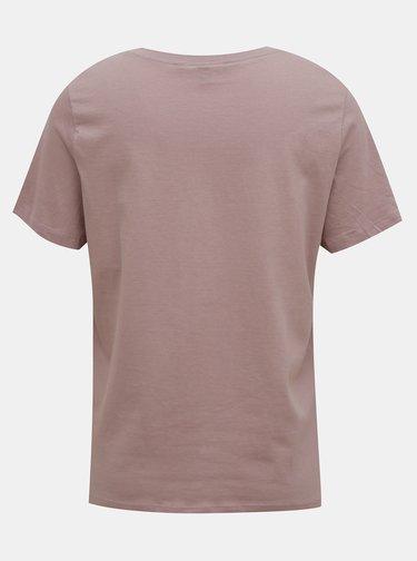 Staroružové tričko s potlačou VERO MODA