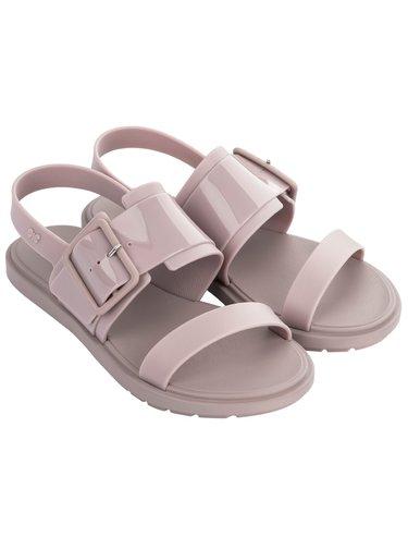 Zaxy šedo-fialové sandály Rush Sand Fem Nude