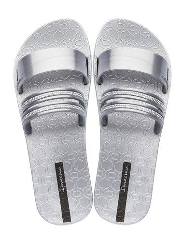 Ipanema stříbrné pantofle New Glam Silver