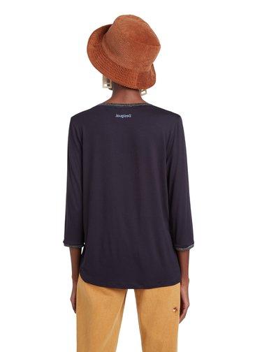 Desigual modré tričko TS Idaho