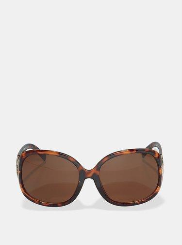 Hnedé vzorované slnečné okuliare Dorothy Perkins