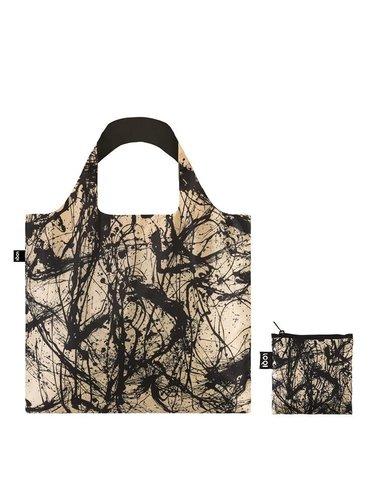 Loqi skládací eko taška Jackson Pollock Number 32