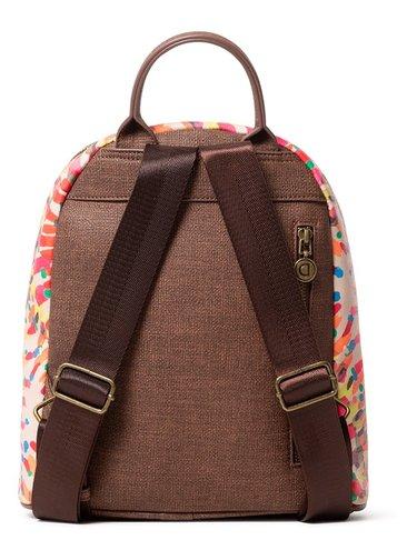 Desigual barevný batoh Back Bruselas Nazca Mini