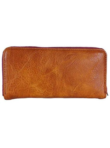 Desigual hnědá peněženka Mone Nanit Zip Around