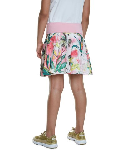 Desigual barevná dívčí sukně Fal Bismarck