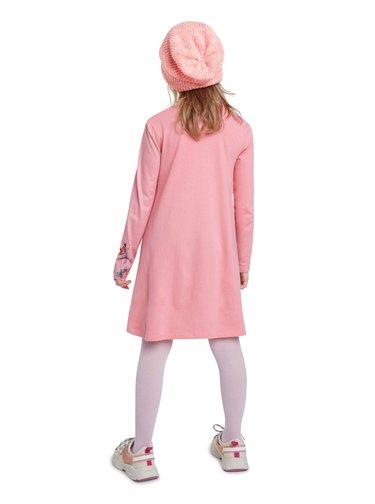 Desigual růžové dívčí šaty Vest Colima