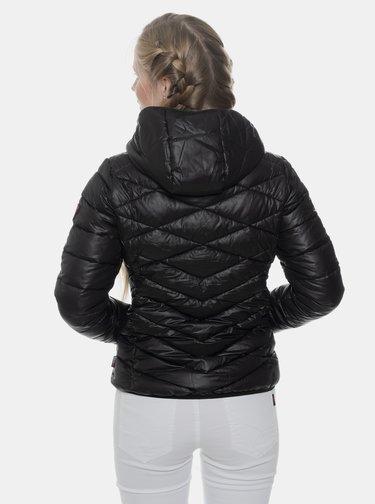 Čierna dámska prešívaná bunda SAM 73