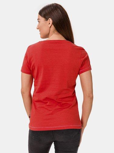 Červené dámské tričko SAM 73
