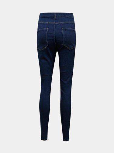 Tmavě modré skinny fit džíny Dorothy Perkins Curve