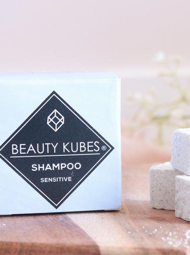 Šampon na vlasy pro citlivou pokožku hlavy Beauty Kubes