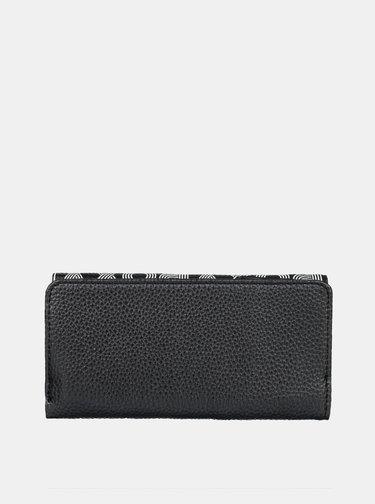 Čierna veľká peňaženka Roxy